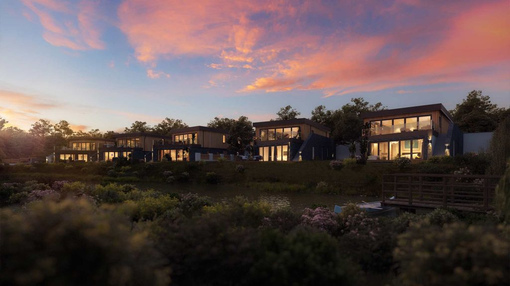 resorts modbox partnership land